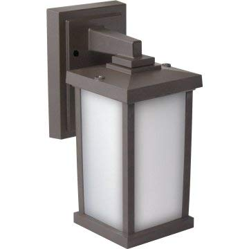 Liteco-FH145-I60-ZF-LCE Liteco Bronze Polymer Wall Rectangular Fixture Compatible Frosted Lens by Liteco