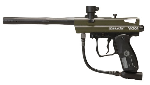 Spyder Victor Semi-Auto Paintball Marker (Forest/Green)