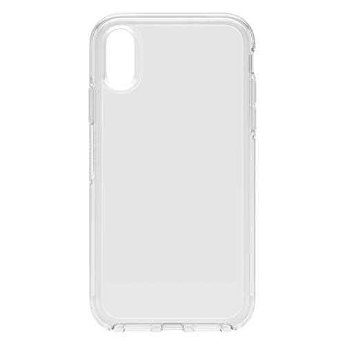 OtterBox for Apple iPhone XR, Sleek Drop Proof Protective Clear Case, Symmetry Clear Series, Clear