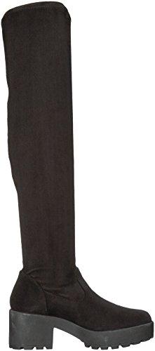 tela Botas Dog moda Rocket Black Curious para mujer de de RwqOZf7a