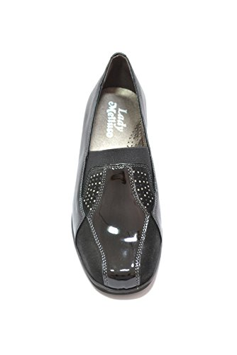 Melluso Decoltè zeppa scarpe nero donna K90237 41