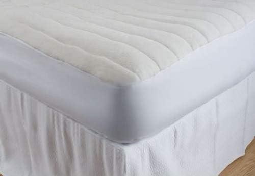 Amazon.com: Deluxe Cómodo cojín relleno colchón Pad de rizo ...