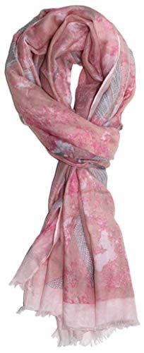 Ted and Jack - Dreamy Dragonfly Overall Print Scarf (Rose Mist)