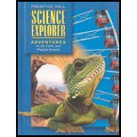 Adventures In Life Earth And Physical Science Student Edition First     Edition 2004C  Science Explorer