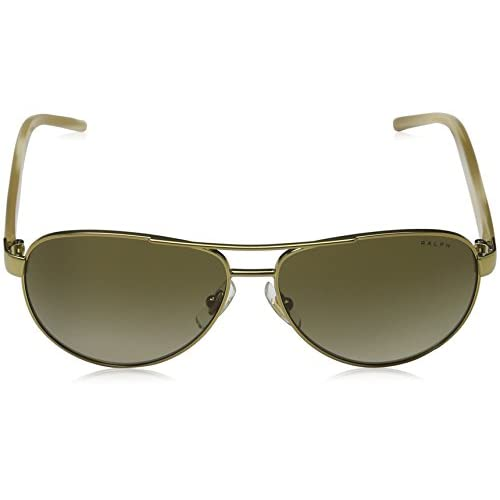 a7bd950d00c Ralph 4004 101-13 Gold and Cream 4004 Aviator Sunglasses Lens Category 2  durable service