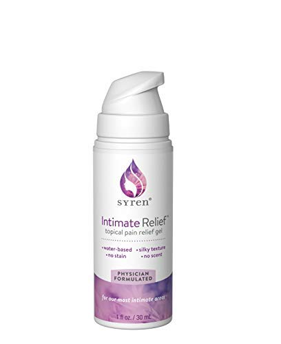 Syren Intimate Relief | Best Soothing Moisturizer Gel for Vaginal Pain, Itch and Dryness | Numbing Topical Skin Treatment for Women with Vulva Pain and Vulvodynia | Extra Long-Lasting Vaginal Comfort by SYREN