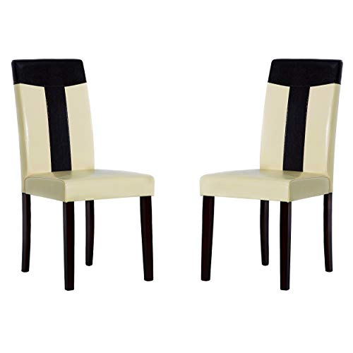 Warehouse of Tiffany Set of 8 Leather Chairs 24091411 8PC Chair