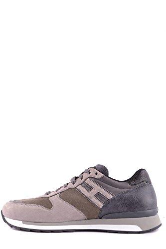 Hogan Rebel Mannen Mcbi148433o Beige / Grijs Suède Sneakers