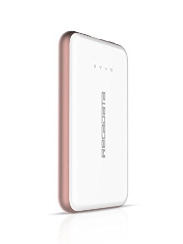 iRecadata i7 Wireless Portable SSD WiFi External Solid State Drive, USB3.1 Type-C, WiFi Router, 2250mAh Power Bank (512GB, White) by irecadata (Image #1)