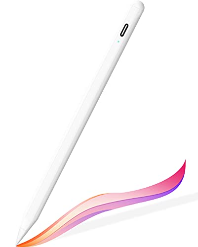 Stylus Pen for iPad (2018 and Later), FaAmour Precise Active Pen for iPad Pencil with Palm Rejection Photograph Tilting for iPad Pro (11/12.9 Inch), iPad 6/7/8th, Pad Air 3rd/4th, iPad Mini 5th Gen