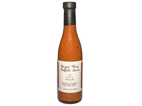Medium Buffalo Sauce - Blended in Small Batches with Farm Fresh Herbs for Premium Flavor and Zest