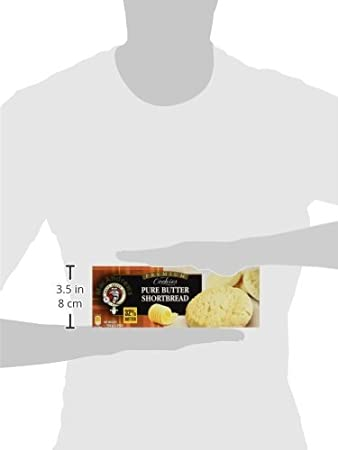 MacAndrews Butter Hourtbread Galletas de Mantequilla con 32% de Manteca - 150 g: Amazon.es: Amazon Pantry