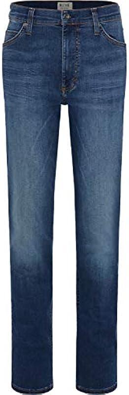MUSTANG Męskie dżinsy Slim Fit Tramper Tapered: Odzież
