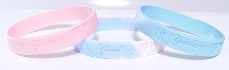 New York Yankees 3 Pack Wristbands (New York Yankees Wristbands)