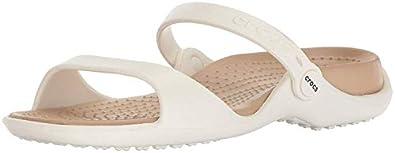 crocs Women's Cleo Black Croslite Fashion Sandals - W7