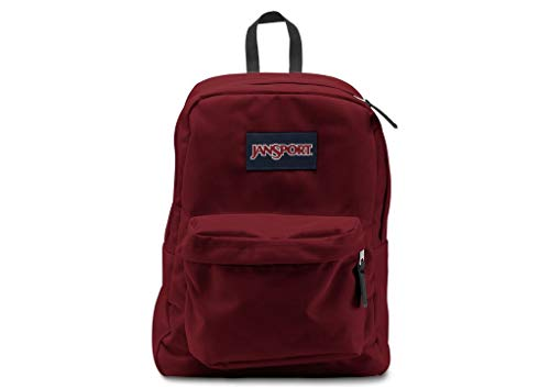 JanSport Backpack Superbreak School Backpack Original Select Color: Viking Red
