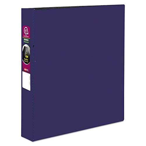 Avery 27351 Durable Binder with Slant Rings, 11 x 8 1/2, 1 1/2