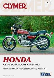 - Clymer Manual Honda CB750 DOHC 79-82 M337 PU M337