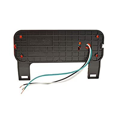 Optronics One L.E.D. Low Profile Combination RV Tail Lights (RVSTLB6061-KIT) Pair - Black Base: Automotive