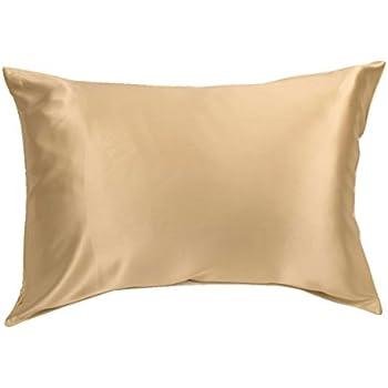 Amazon Com King Champagne 100 Mulberry Silk Pillowcase