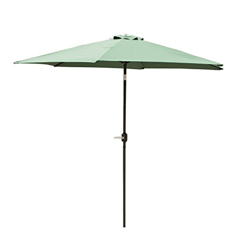 Walcut 10FT Waterproof Market Outdoor Patio Umbrella with Ti