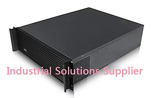 Fevas 3U Industrial Computer Case 3U Server Computer Case Double Plate Quality Aluminum Panel 55cm by Fevas