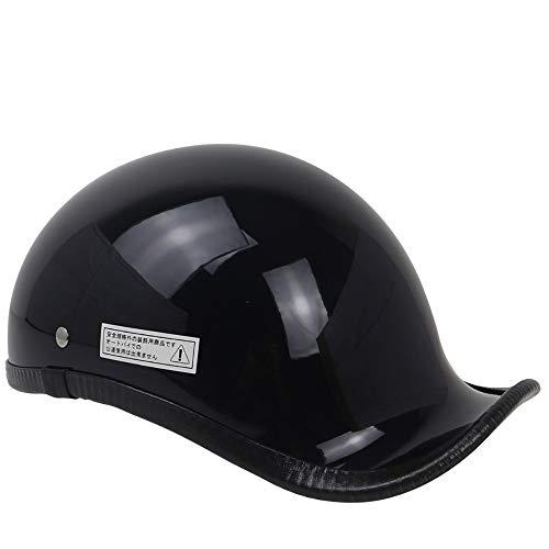 Open Face Motorcycle Helmet DOT Approved Retro Personality Scooter Sport Motorbike Jet Pilot Visor for Bound Training Mountain Road Highway Biker Cruiser Chopper
