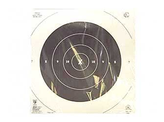 Hoppe's No. 9 Official Competition 50-Yards Slow Fire Center Pistol Target Paper (20 (Hoppes Rifle Target)