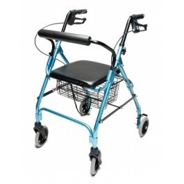 Lumex Walkabout Lite Four-Wheel Rollator -Lumex Walkabout Lite Four-Wheel Rollator, Lavender - Each 1 by Lumex