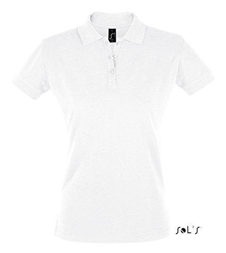 SOL´S Women´s Polo Shirt Perfect, White, XXL