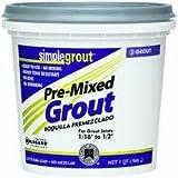 Custom PMG165QT 1-Quart Simple Premium Grout, Delorean Gray