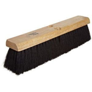 Weiler 42017 Tampico Fiber Medium Sweep Floor Brush, Black Center Fill, 2-1/2