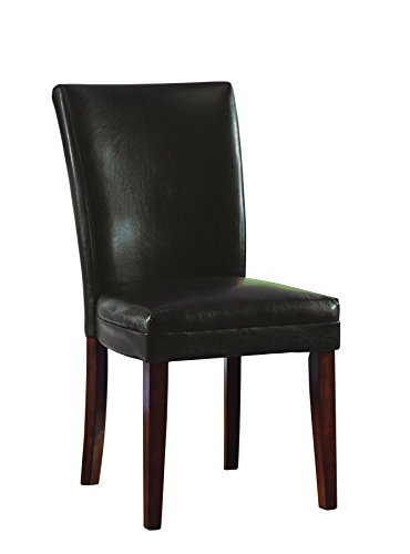 Coaster Home Furnishings Casual Dining Chair,  Cherry/Brown - Brown Cherry Dining Chairs