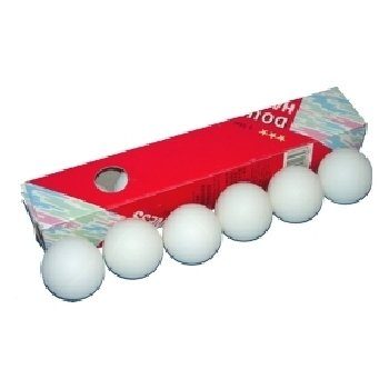 DDI 102406 Orange Table Tennis Balls Case Of 50 by DDI