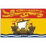 NEW BRUNSWICK NB PROVINCIAL 3 X 5 FEET LARGE FLAG BANNER ... (92 CM X 152 CM) CANADIAN PROVINCE .. NEW