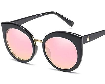 Classic Lady Sunglasses Fashion Cat Eye Sunglasses Retro Sunglasses Black  and Pink  Amazon.in  Home   Kitchen e1a72f1cf7d4b