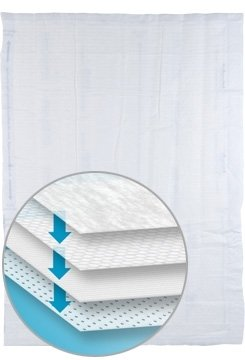Sage Products Prevalon Replacement Underpad - 7250CS - 30 Each / Case