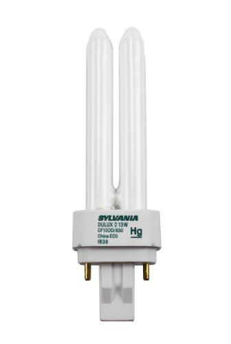 Sylavnia 20705 13 Watts Pin Base Cf13Dd/830/Eco Gx23-2 Case Of 50 Light Bulb by Sylvania