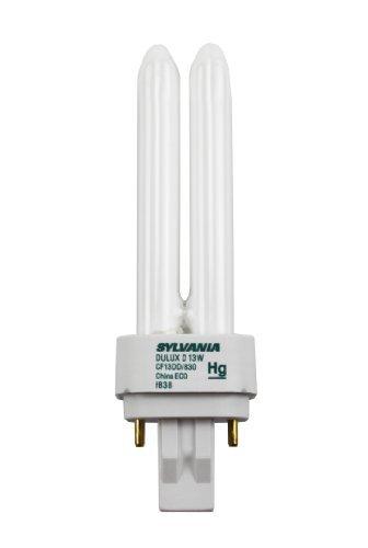Sylavnia 20705 13 Watts Pin Base Cf13Dd/830/Eco Gx23-2 Case Of 50 Light Bulb by Sylvania