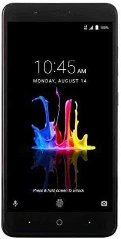"ZTE BLADE Z MAX Z982 (32GB, 2GB RAM) 6.0"" Full HD Display, Dual Rear Camera, 4080 mAh Battery, 4G LTE GSM Unlocked Smartphone w/ US Warranty (Black) (Renewed)"