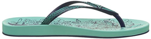 Ipanema Anat. Nature Fem, Chanclas mujer Multicolor (Royal/Black/White)