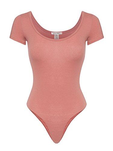 - Instar Mode Women's Versatile Bodysuit Leotard in Various Styles in Short and 3/4