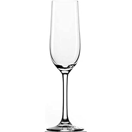 Anchor Hocking Stolzle Classic Champagne Flute Glass 6 5 Ounce 24 Per Case
