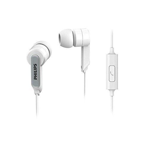 Philips SHE1405WT in-Ear Headphone Headset With Mic SHE1405 White
