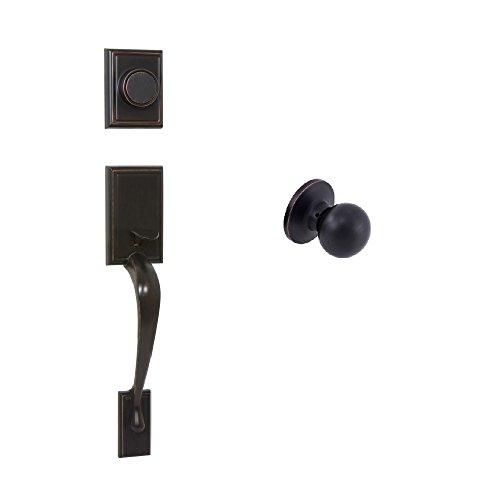 - EZ-Set 240673 Philadelphia Hardware Kellington Dummy Handleset with Bala Knob, Tuscany Bronze