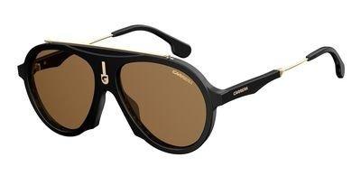 Carrera Flag 80770 Black Flag Aviator Sunglasses Lens Category 3 Size ()