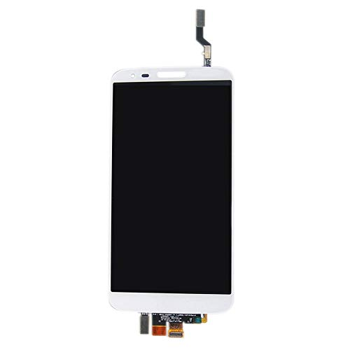 SunSky 2 in 1 for LG G2 / D800 D801 D803 F320 (Original LCD + Touch Pad) Digitizer Assembly(White)