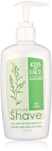 Kiss My Face Moisture Shave Shaving Cream, Key Lime Shaving