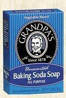 (Grandpa's Epsom Salt & Baking Soda Soap 3.25 Ounces (Pack of 6))