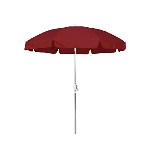 Red 7.5' Olefin Umbrella - 1